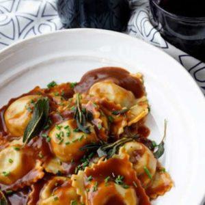 Ravioli artisanaux aux truffes